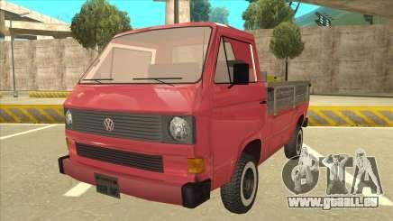 Volkswagen Transporter T3 Pritsche pour GTA San Andreas