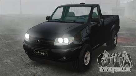 UAZ Patriot-pickup für GTA 4