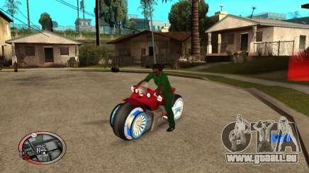 Tadpole Motorcycle pour GTA San Andreas