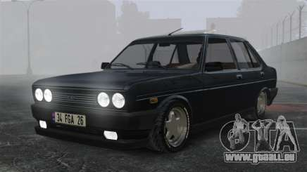Fiat 131 für GTA 4