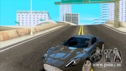 Aston Martin One-77 pour GTA San Andreas