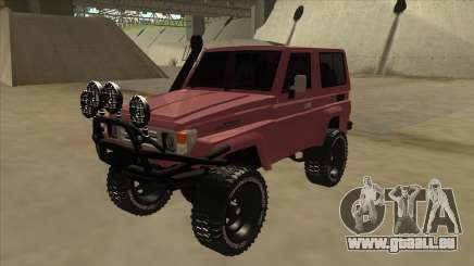 Toyota Machito Fj70 2009 V2 pour GTA San Andreas