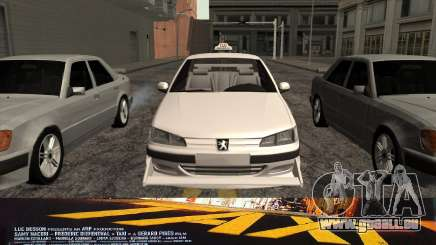 Peugeot 406 Taxi v2 pour GTA San Andreas