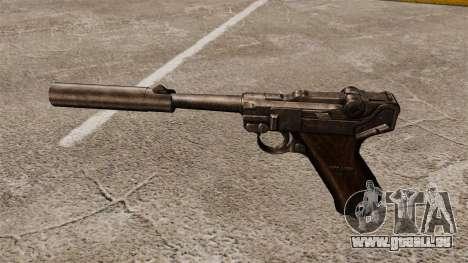 Pistolet Parabellum v2 pour GTA 4 troisième écran