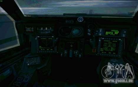 AH-64 Apache für GTA San Andreas obere Ansicht
