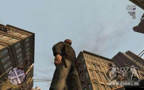 Makarov Pistole für GTA 4 Sekunden Bildschirm