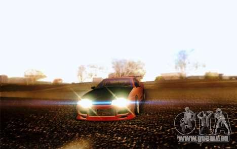 Elegy Drift Concept pour GTA San Andreas vue intérieure
