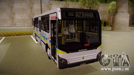 Busscar Urbanuss Ecoss MB OF 1722 M Porto Alegre pour GTA San Andreas laissé vue