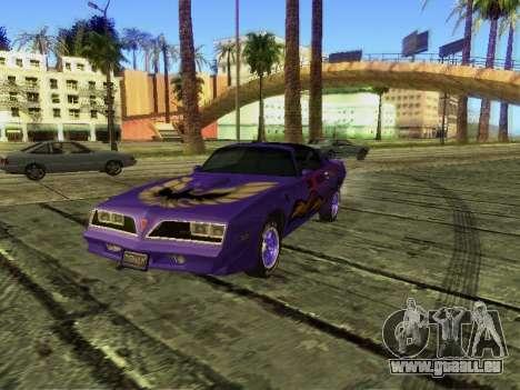 Pontiac Firebird Overhaulin pour GTA San Andreas
