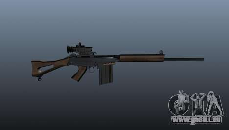 Fusil FN FAL pour GTA 4 troisième écran