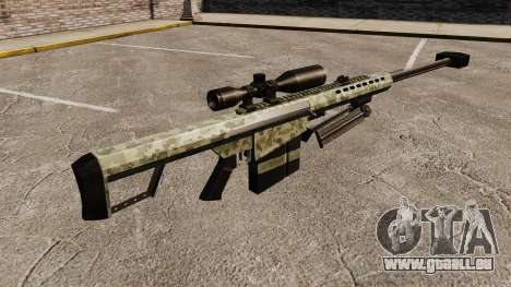 Le v8 de fusil de sniper Barrett M82 pour GTA 4 secondes d'écran