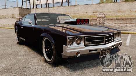 La nouvelle version de la GT de Sabre pour GTA 4