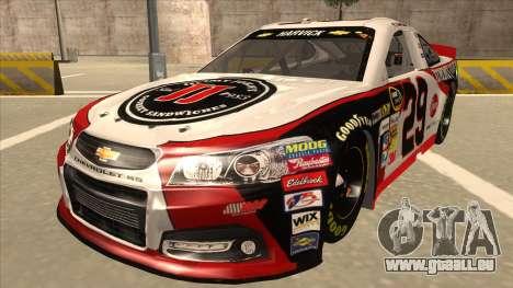 Chevrolet SS NASCAR No. 29 Jimmy Johns für GTA San Andreas