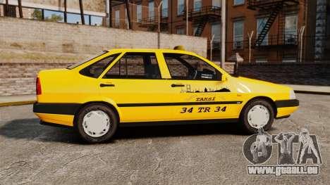 Fiat Tempra SX.A Turkish Taxi für GTA 4 linke Ansicht