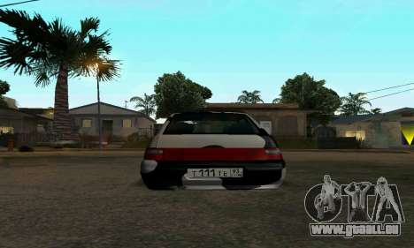 LADA 112 pour GTA San Andreas sur la vue arrière gauche