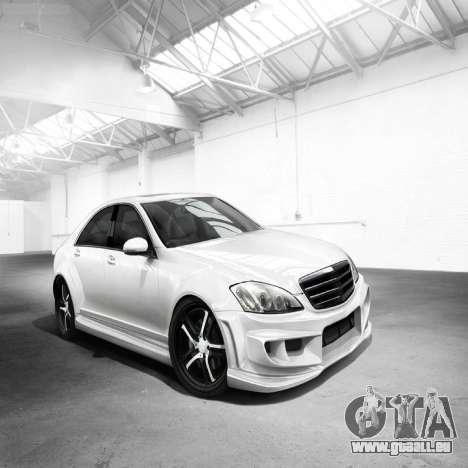 Écrans de chargement Mercedes-Benz pour GTA 4 septième écran