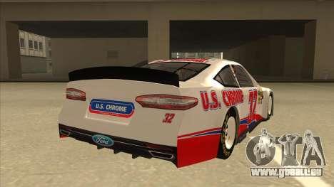 Ford Fusion NASCAR No. 32 U.S. Chrome pour GTA San Andreas vue de droite