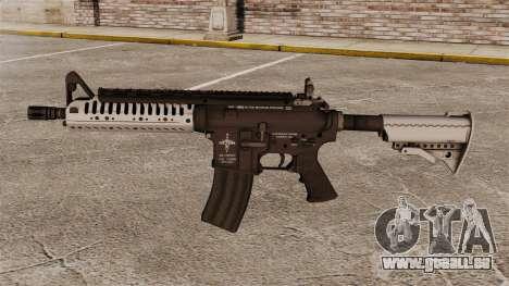 Automatique carabine M4 VLTOR v5 pour GTA 4 troisième écran