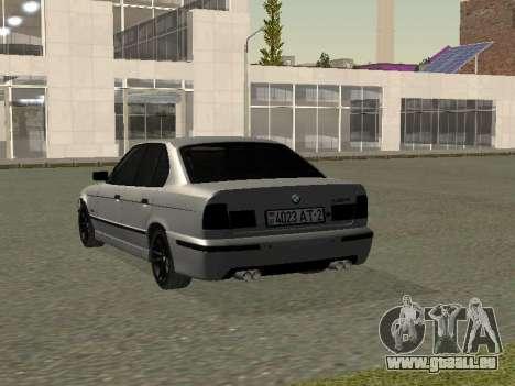 BMW 525I pour GTA San Andreas vue de droite