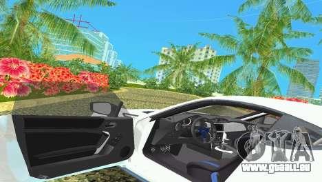 Subaru BRZ Type 4 pour GTA Vice City vue latérale