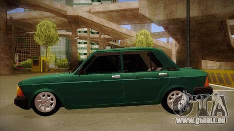 Fiat 128 Super Europa für GTA San Andreas zurück linke Ansicht