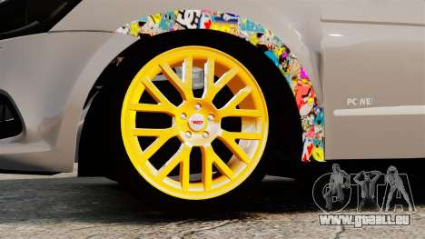 Volkswagen Gol G6 2013 Turbo Socado für GTA 4 Rückansicht