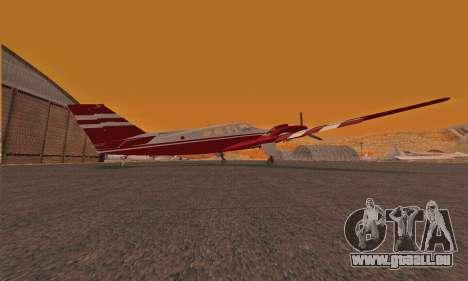 Rustler GTA V pour GTA San Andreas sur la vue arrière gauche