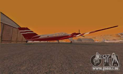 Rustler GTA V für GTA San Andreas zurück linke Ansicht