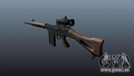 Fusil FN FAL pour GTA 4 secondes d'écran