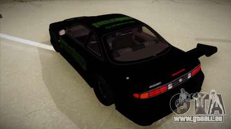 Nissan s14 200sx [WAD]HD für GTA San Andreas Rückansicht