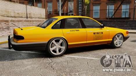 Taxi nouveau CDs pour GTA 4 est une gauche