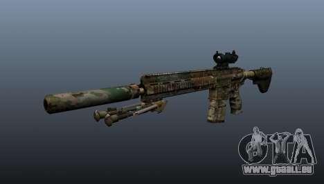 HK417 rifle v2 pour GTA 4