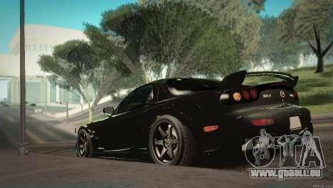 Mazda RX-7 STANCENATION für GTA San Andreas Seitenansicht