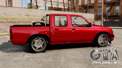 Nissan Frontier D22 für GTA 4 linke Ansicht