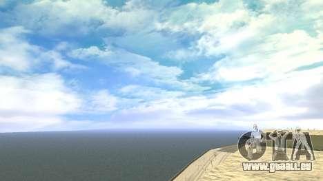 Cleo SkyBox pour GTA San Andreas deuxième écran