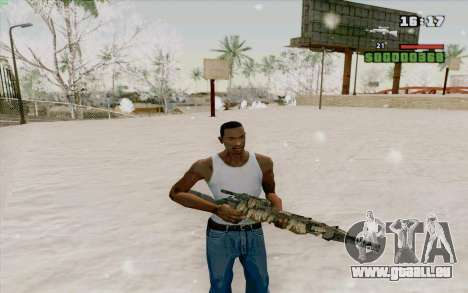 M21 pour GTA San Andreas quatrième écran