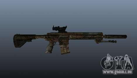 HK417 rifle v2 pour GTA 4 troisième écran