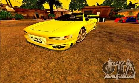 Infernus Cabrio Edition für GTA San Andreas