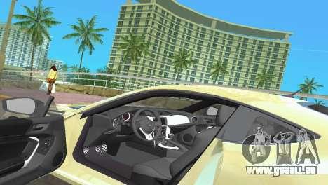 Subaru BRZ Type 1 pour GTA Vice City vue de dessous