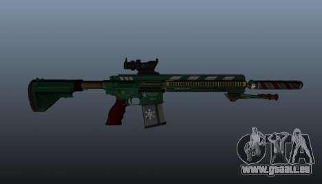 HK417 Gewehr v3 für GTA 4 dritte Screenshot
