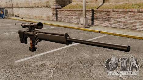 HK PSG10 Scharfschützengewehr für GTA 4