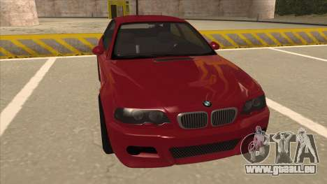 BMW M3 Tuned für GTA San Andreas linke Ansicht