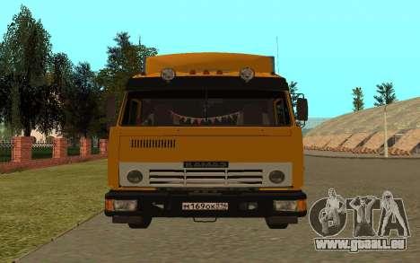 KAMAZ 54115 pour GTA San Andreas vue de droite