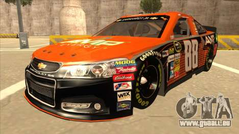 Chevrolet SS NASCAR No. 88 Amp Energy pour GTA San Andreas
