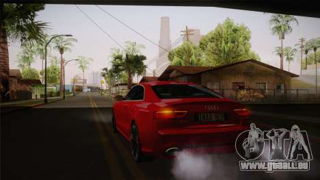 Audi RS5 2012 pour GTA San Andreas vue de côté