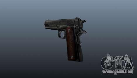Pistolet M1911 v4 pour GTA 4 secondes d'écran