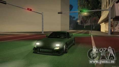 Mazda RX-7 STANCENATION pour GTA San Andreas salon