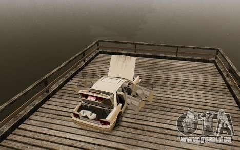 Mitsubishi Galant V2 pour GTA 4 Vue arrière
