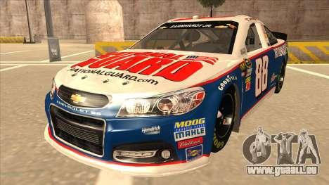 Chevrolet SS NASCAR No. 88 National Guard für GTA San Andreas
