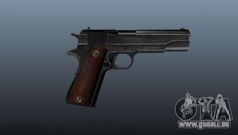 Pistolet M1911 v4 pour GTA 4 troisième écran
